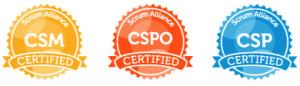 CSM, CSPO & CSP